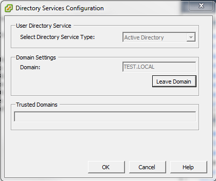 dom5 Joining ESXi to a Domain