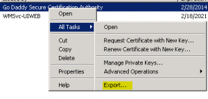 cert2-300x143 Exporting a Godaddy wildcard certificate from IIS to Tomcat