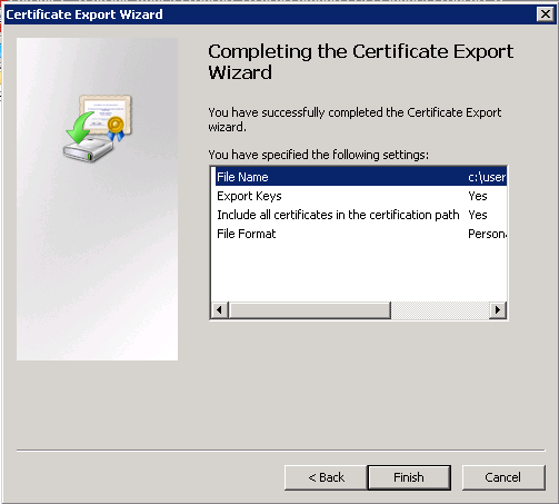 Exporting a Godaddy wildcard certificate from IIS to Tomcat ...