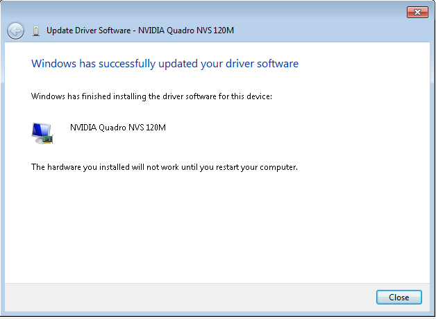 Dell Update Not Working
