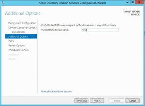 dcpromo17-300x219 Windows 8 Server Beta Active Directory ADDS Installation