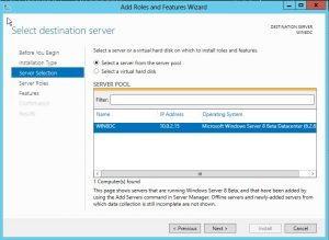 dcpromo4-300x219 Windows 8 Server Beta Active Directory ADDS Installation