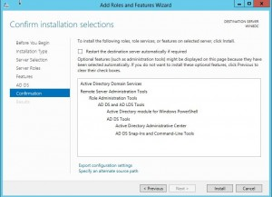 dcpromo9-300x217 Windows 8 Server Beta Active Directory ADDS Installation