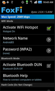 foxfi1-182x300 How to create a wifi hotspot on a non rooted phone FoxFi