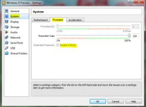 vboxCPsettings2-300x221 How to Install Windows 8 Customer Preview