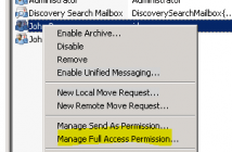 How to allow a user to open another user's mailbox Exchange