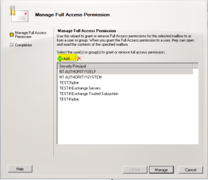 exchange20102-300x260 How to allow a user to open another user's mailbox Exchange 2010 and Exchange 2003