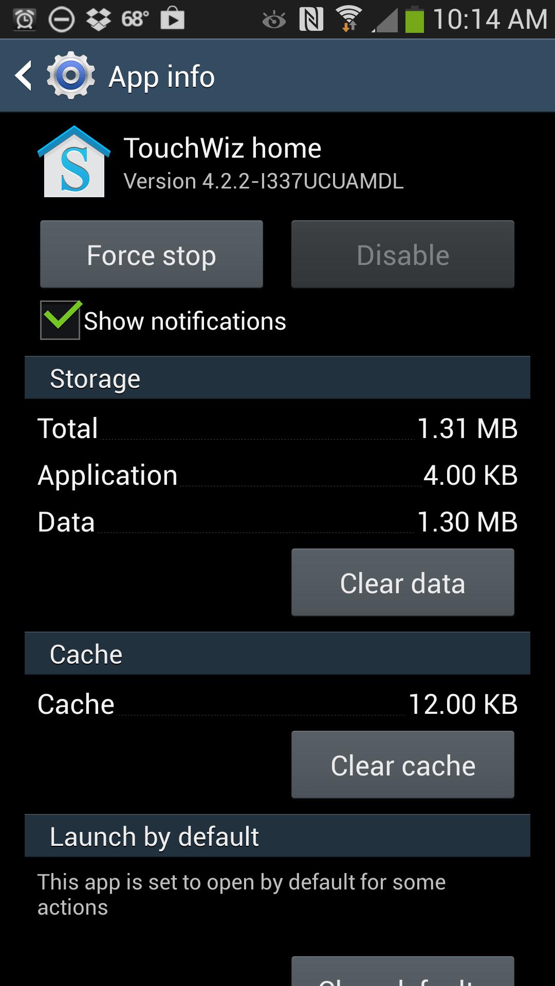 Galaxy s4 clock widget not updating