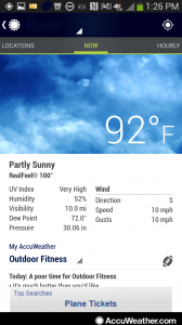 accu1-168x300 Best Android Weather App 2013 Roundup