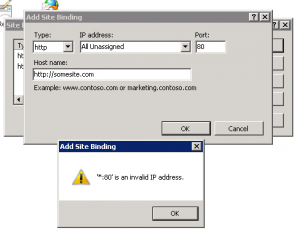 binderror1-300x244 IIS Edit Bindings error 80 is an invalid IP address