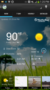 bug1-168x300 Best Android Weather App 2013 Roundup