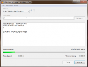 makeiso9-300x229 How to create an ISO image of a CD or DVD to burn later