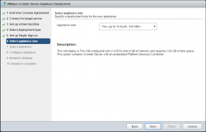 vcsa6_18-300x192 Lab Deploy VCSA with Embedded Platform Services Controller