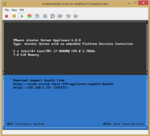 vcsa6_30-300x271 Lab Deploy VCSA with Embedded Platform Services Controller