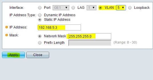 assign interface to vlan juniper