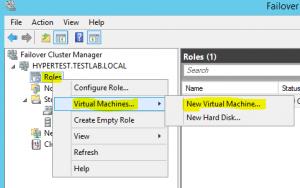 cluster02-300x188 Setup a Hyper-V Cluster Lab in VMware Workstation