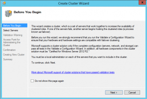 hyper-vcluster01-300x202 Setup a Hyper-V Cluster Lab in VMware Workstation
