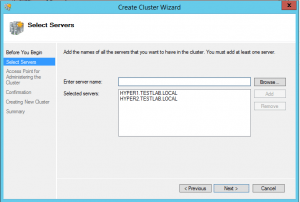 hyper-vcluster03-300x202 Setup a Hyper-V Cluster Lab in VMware Workstation