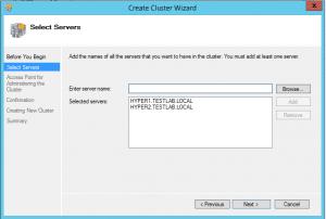 hyper-vcluster03-300x202 Setup a Hyper-V Cluster Lab in VMware Workstation