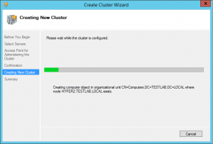 hyper-vcluster06-300x203 Setup a Hyper-V Cluster Lab in VMware Workstation