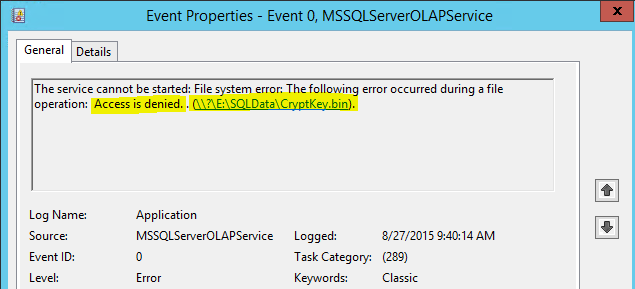 SQL 2014 Setup Failed Analysis Services - Virtualization Howto