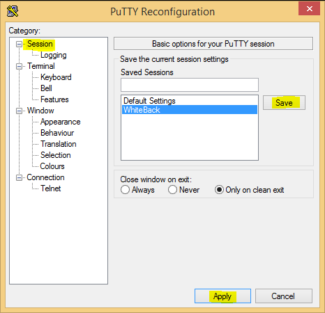Change the font and color in SuperPutty - Virtualization Howto
