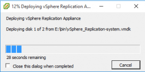 replication14-300x149 Installing the vSphere 6 Replication Appliance