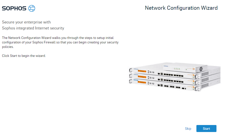 Sophos XG UTM firewall virtual appliance install and configure