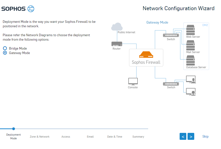 Sophos XG UTM firewall virtual appliance install and configure