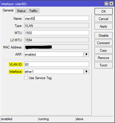 Mikrotik Setup Multiple Virtual APs and VLANs