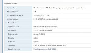 vcupdates03-300x176 Updating vCenter VCSA and update manager to 6.0 U1b