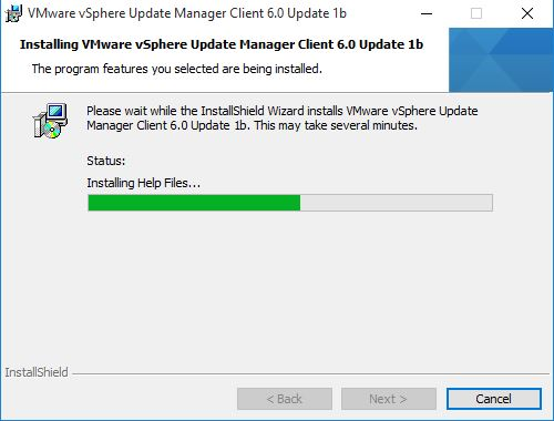 download update manager client plug-in