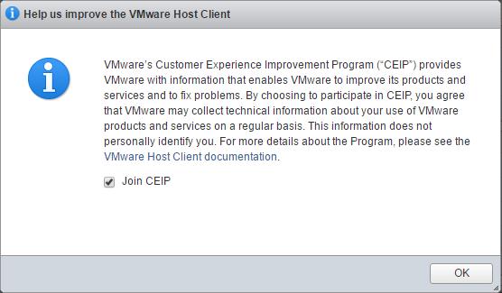 hostui01b VMware ESXi 6.0 Update 2 Host Client