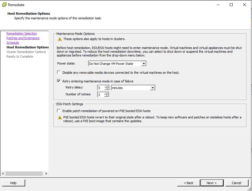 Update manager Upgrade VMware ESXi 6 0 update 2