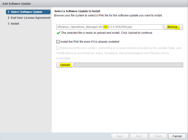 vrops_update06 Upgrade VMware vRealize Operations Manager vROPs 6.2