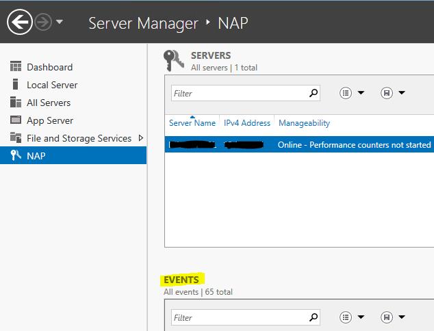 Windows 2012 R2 NPS log files location configuration