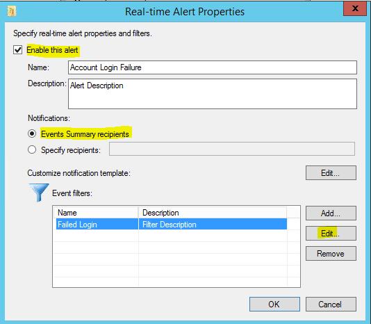 elogmgr03 Get notified of failed Windows login attempts