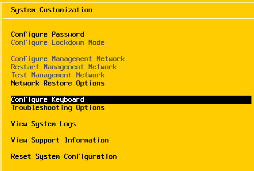 ESXi 6 Configure Management Network Greyed out - Virtualization Howto