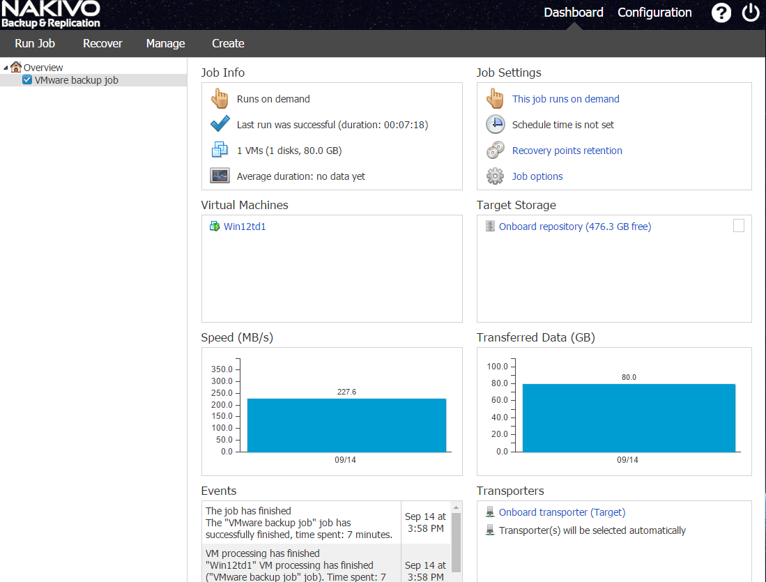 nbr_ad01 Nakivo 6.1 Backup and Restore Active Directory