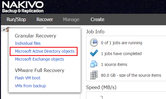 nbr_ad03 Nakivo 6.1 Backup and Restore Active Directory
