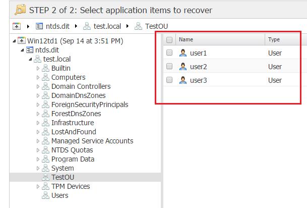 nbr_ad08 Nakivo 6.1 Backup and Restore Active Directory