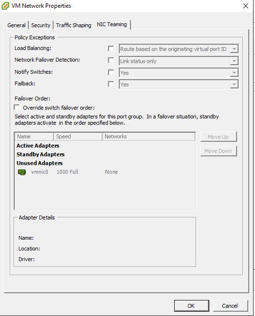 unused01 ESXTOP troubleshoot VM network connectivity