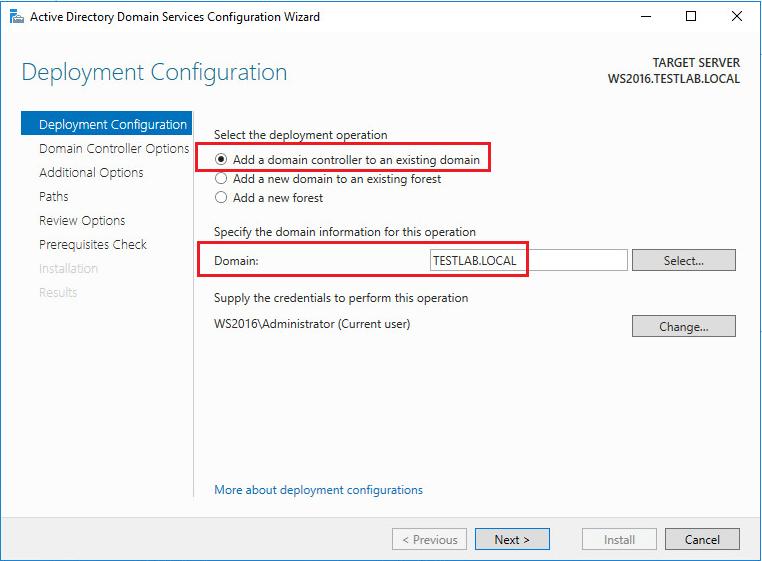 adds2016_09 Prepare Active Directory Windows Server 2016 DC Adprep