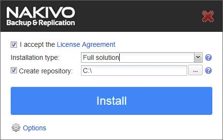 nakaz01 Nakivo Backup & Replication Backup to Azure