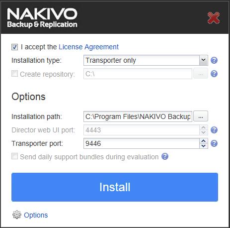 nakaz03 Nakivo Backup & Replication Backup to Azure
