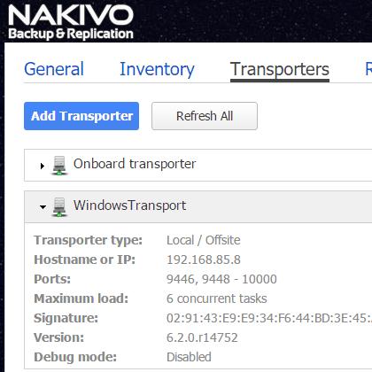 nakaz08 Nakivo Backup & Replication Backup to Azure