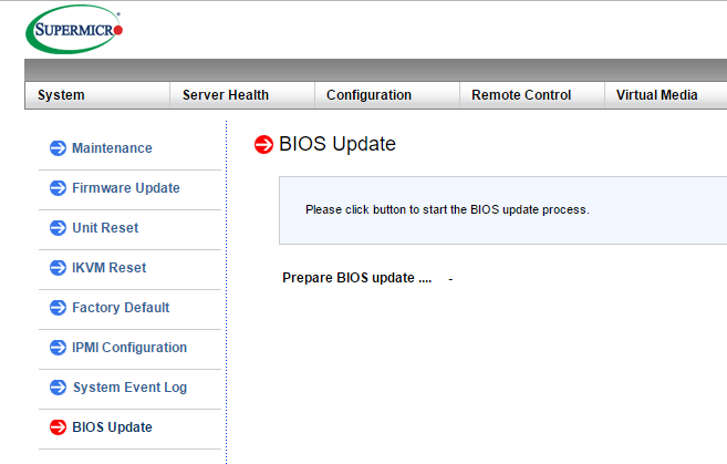 supbios07 Update Supermicro BIOS using IPMI SUM