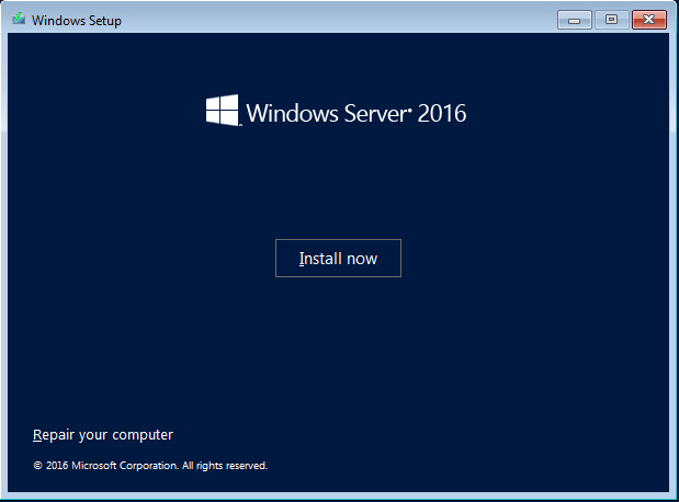 ws201610 Windows Server 2016 RTM Installation and Configuration