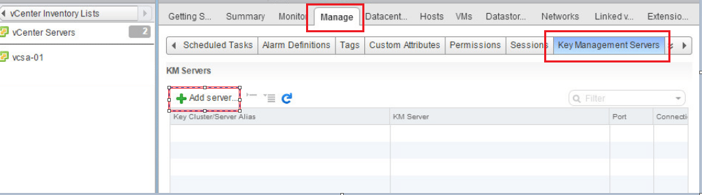 encrypt01 VMware vSphere 6.5 Configure Encrypted VMs