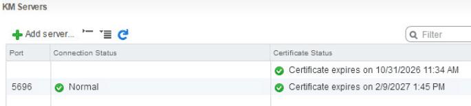 encrypt07 VMware vSphere 6.5 Configure Encrypted VMs